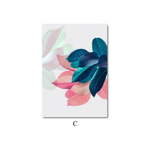 Scandinavian Botanical Leaf