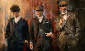 Peaky blinders Graffiti Art