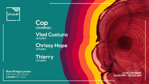 Tickets for 17-11-2017 Stump with Cap,Vlad Custura,Chrissy Hope,Thierry