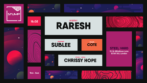 Tickets for 16-02-2019 Stump with Raresh,Sublee,Chrissy Hope,Cote