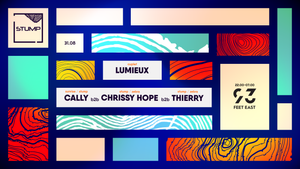 Tickets for 31-08-2019 - Stump with Lumieux, Cally b2b Chrissy Hope b2b Thierry