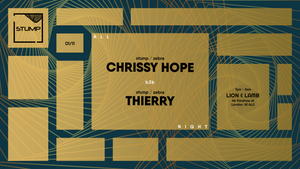 Tickets for 01-11-2019 Stump with Chrissy Hope b2b Thierry