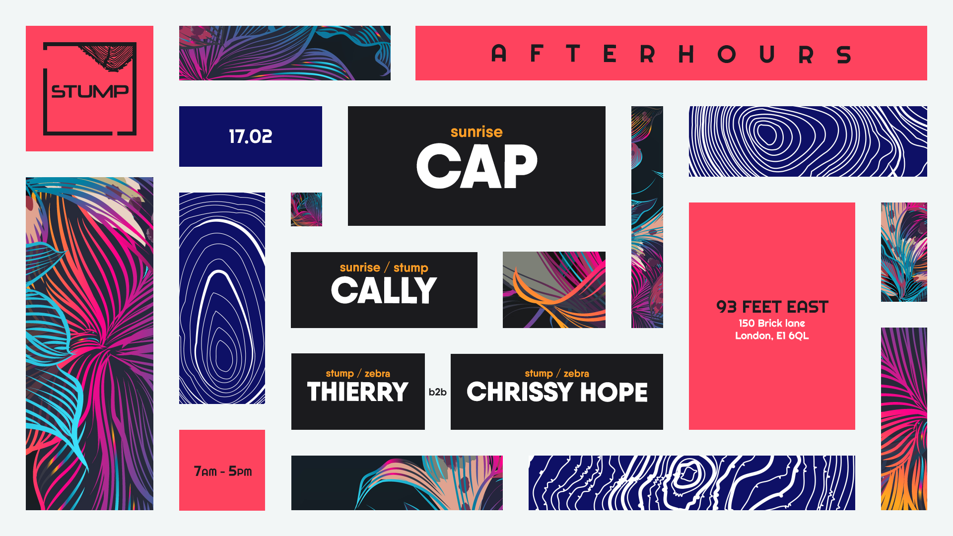 Tickets for 17-02-2019 Stump afters with Cap, Cally, Thierry b2b Chrissy Hope