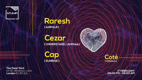 Tickets For 17-02-2018 Stump with Raresh, Cezar, Cap, Cote (Visuals)