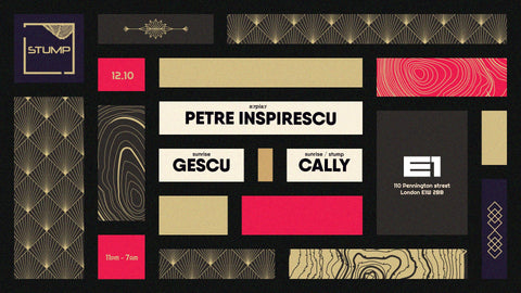 Tickets for 12-10-2019 - Stump with Petre Inspirescu Gescu caLLy