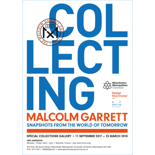 Collecting Malcolm Garrett