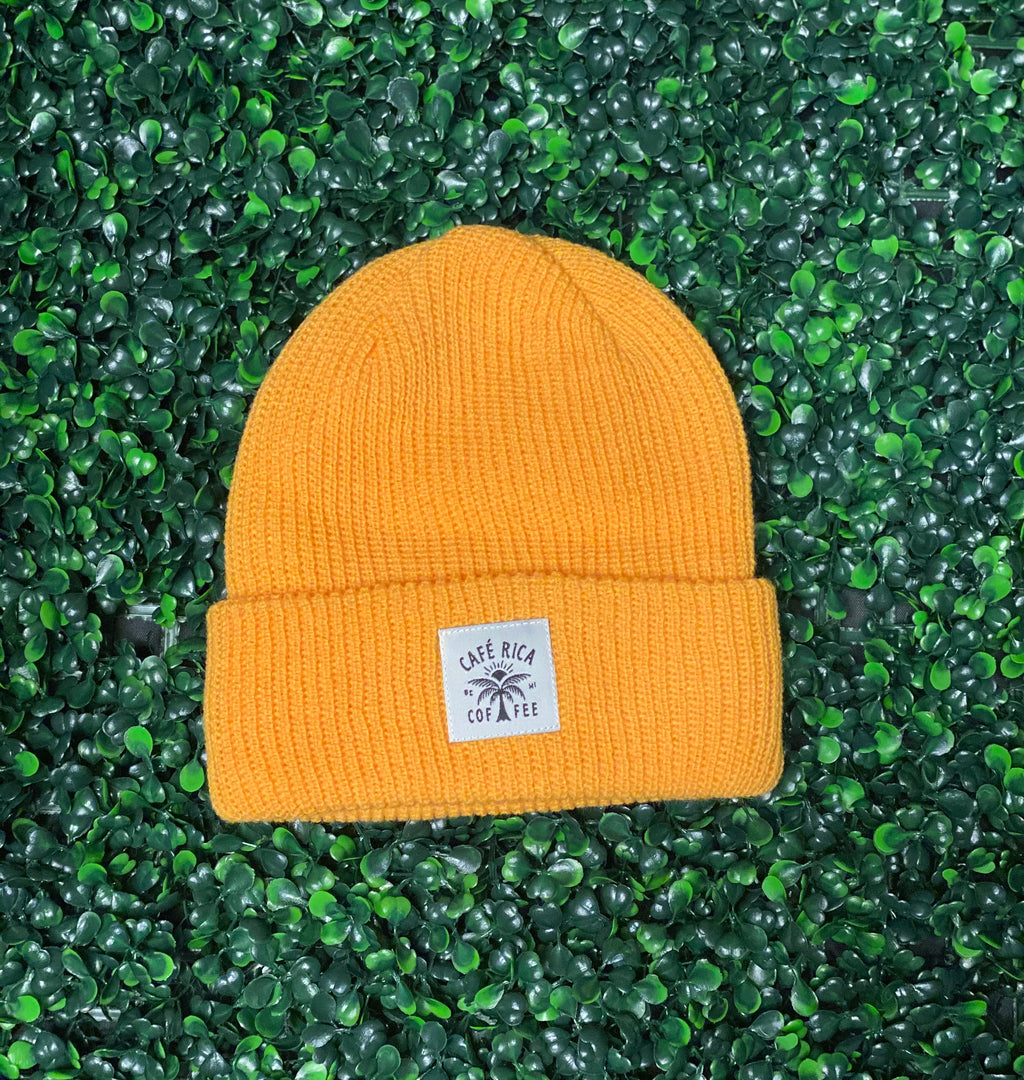 Cafe Rica Beanies (Athletic Gold)