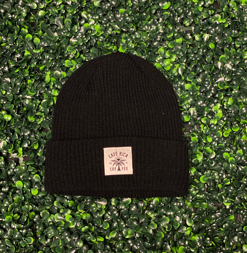 Cafe Rica Beanies (Black)