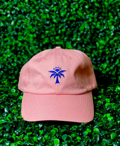 Cafe Rica Palm Tree Dad Hat (Pink)