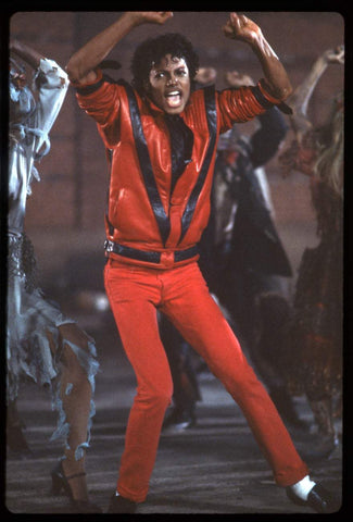Michael Jackson performing Thriller in the 1980 and influencing festival styles