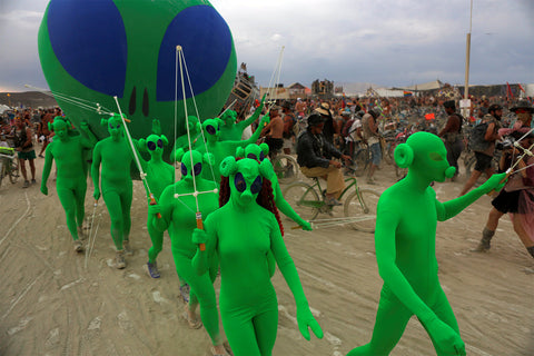Festival Outfits, Burning Man, 2017
