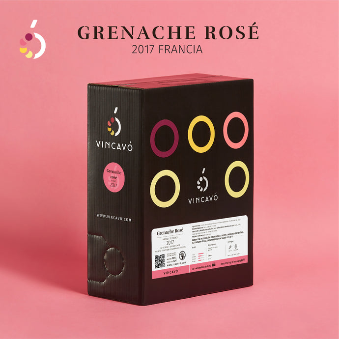 Grenache Rose 3 Litros (Equivale a 4 botellas)
