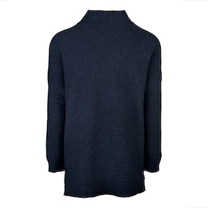 Charlotte Sweater in Navy