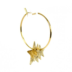 Star Earrings Gold