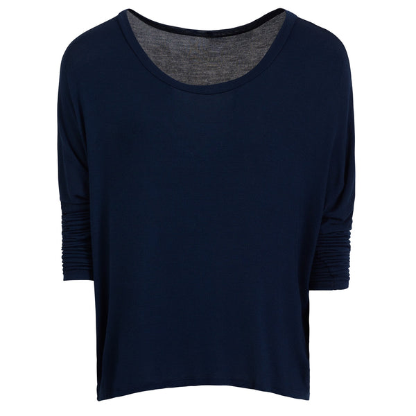 Sarah Top in Navy
