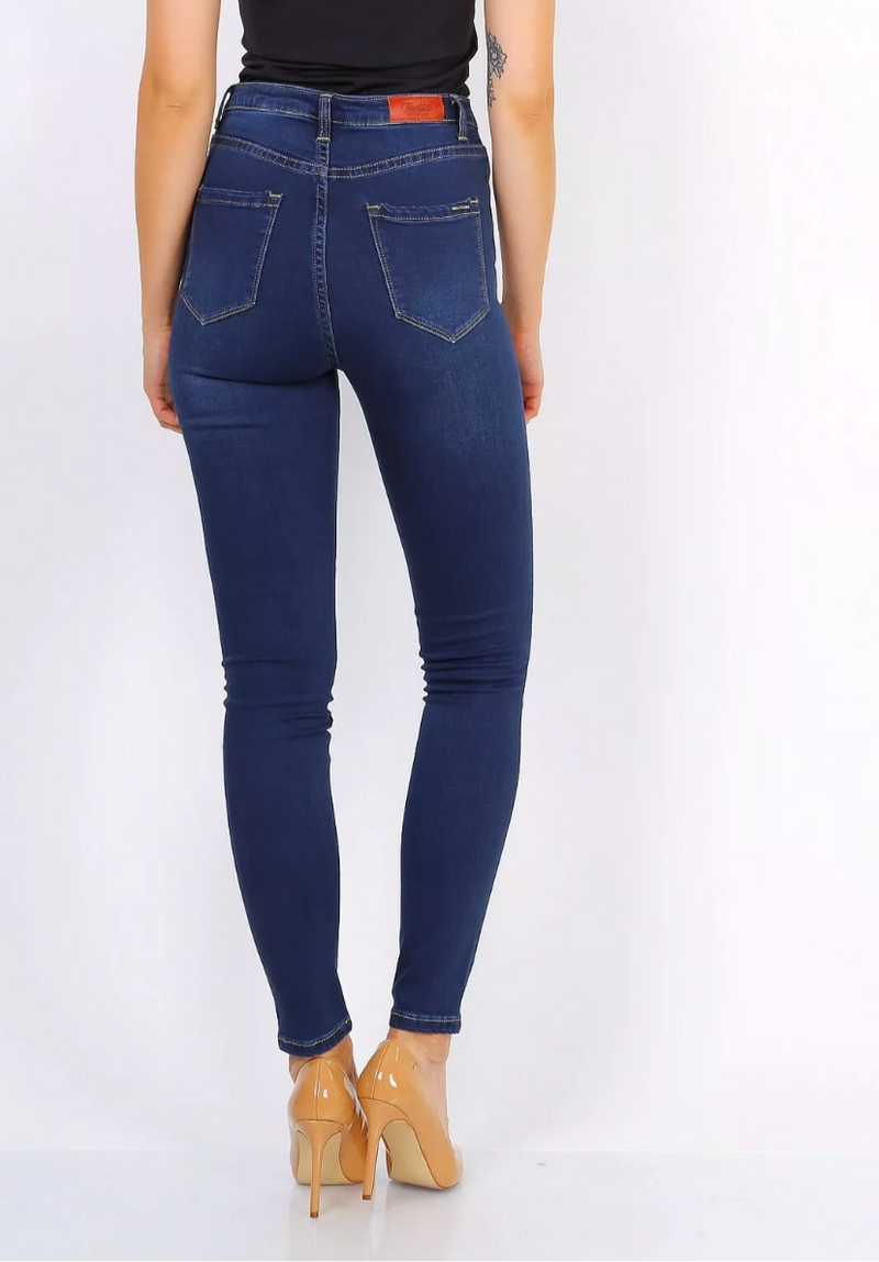 Cara Jeans - Dark Blue Denim