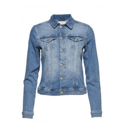 Classic Faded Blue Denim Jacket