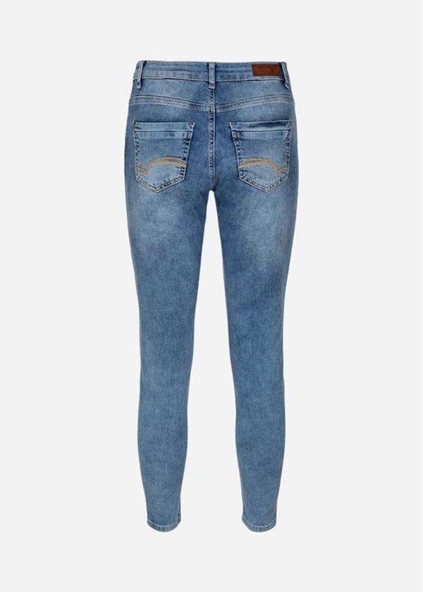Skinny Jeans in Classic Blue Denim