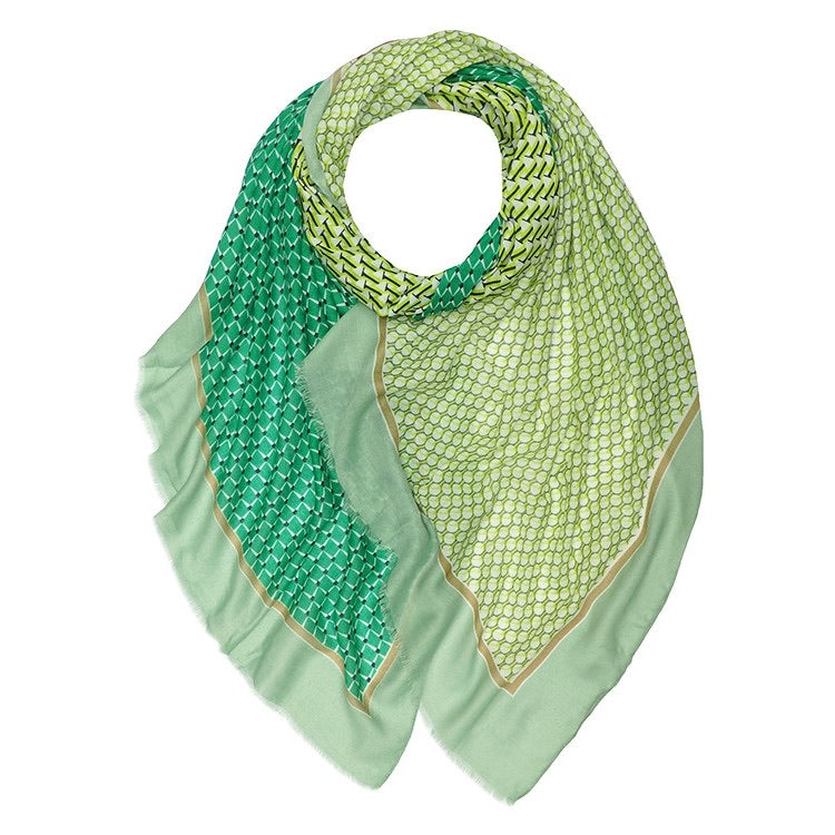 Gee Scarf Green
