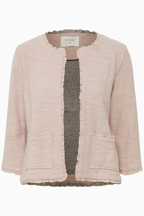 Jersey Jacket in Rose Dust