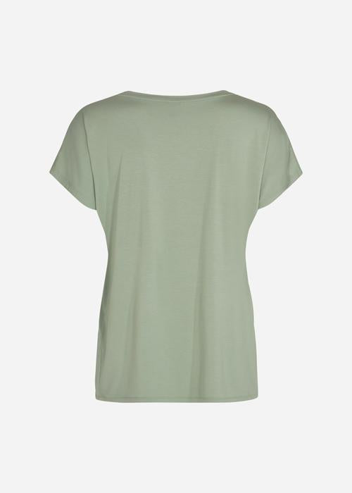 V-Neck Tee in Sage Green