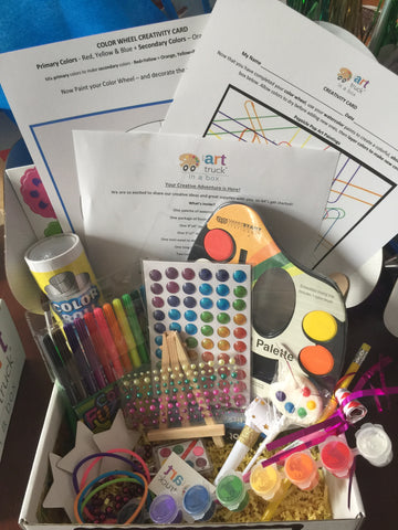 Art Discovery Box for Teens
