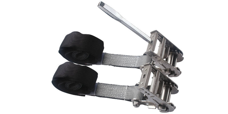 "2"" Underlift Straps with Torque Tool - Stainless Steel"