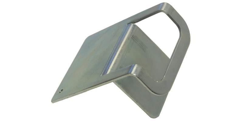 "3"" Slotted Steel Corner Protector for Chain"