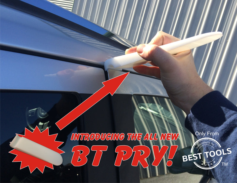BT Pry hard wedge is easy to use for getting through the vehicle.