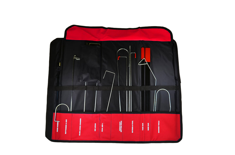 red Original Velcro Lockout Kit