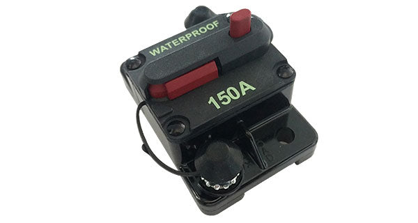 Circuit Breakers available in 50A, 80A,100A, and 150A
