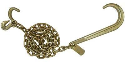5/16'' J Hook Tow Chain with Compact J Hook & Grab Hook