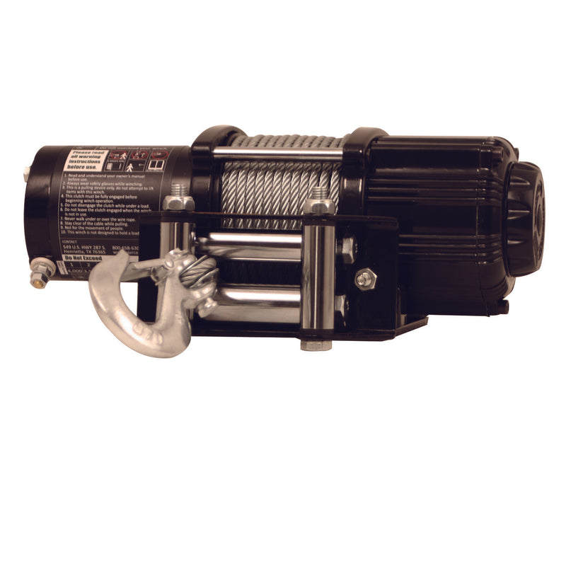 4,000 lb Recovery Winch (PS4000) - PIERCE WINCH