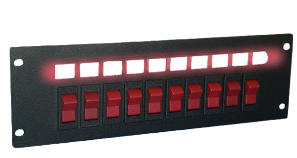 SP- Switch Plate (6, 8, or 10 switch)