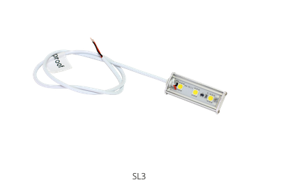 SL3 Series Waterproof Lights- Low Profile Worklights
