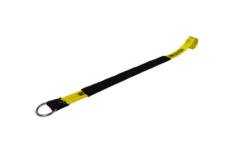 8ft yellow Lasso Straps with wear pads