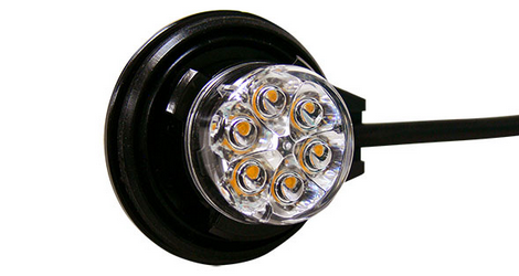 6-Diode Ford Interceptor Hideaway Light Kit