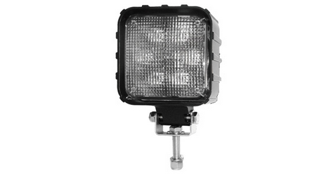 High power 1900 lumen LED Flood Light / work lamp! Each unit has 6 (3W) LED diodes, and impressive optics that provide huge output.