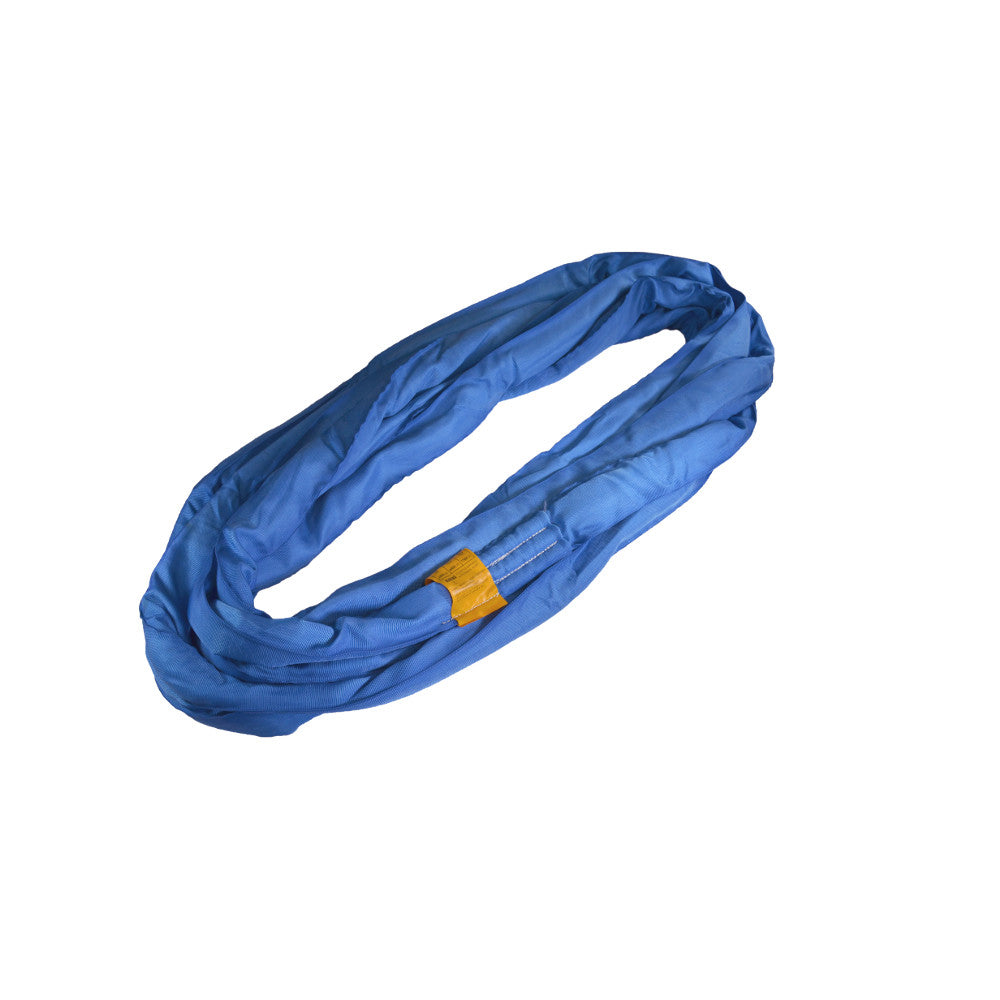 Blue Round Polyester Slings - Made in USA