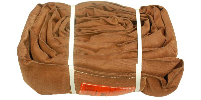 Brown Polyester Round Slings