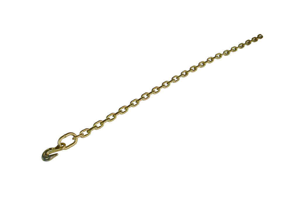 "5/16"" Grade 70 Transport Chain with Grab Hooks each end"