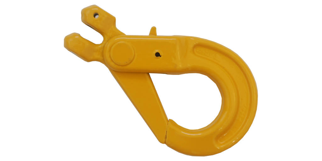 Grade 80 1/2'' self locking clevis hook is fatigue tested