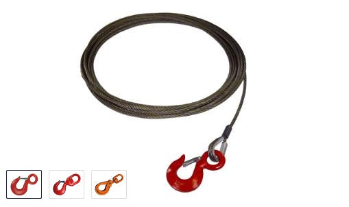 "7/16"" Fiber Core Winch Cables"