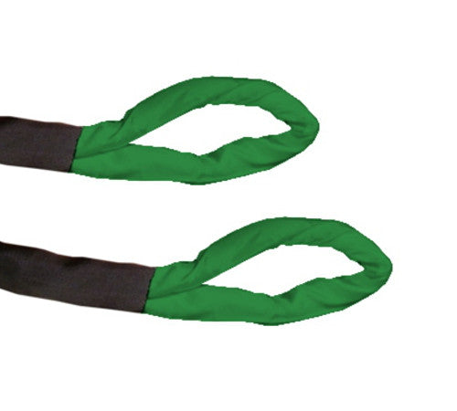 Green Eye Eye Polyester Round Sling - Made in USA