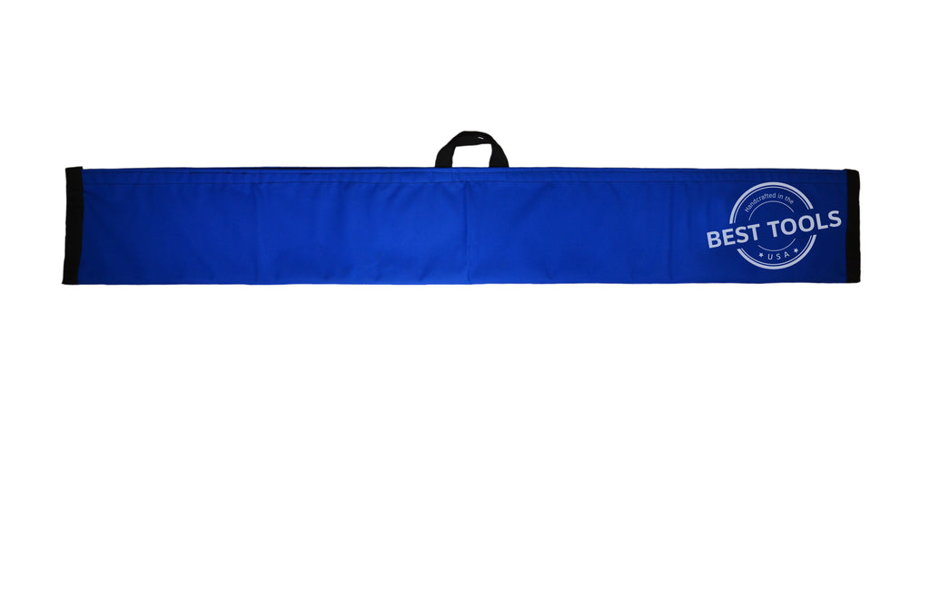 Blue Magic Wand Lockout Pouch is made of Nylon/Poly and comes with a Velcro Fastener.