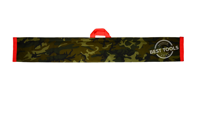 Camo Magic Wand Lockout Pouch is made of Nylon/Poly and comes with a Velcro Fastener.