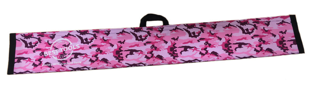 Pink Camo Magic wand pouch for lockouts