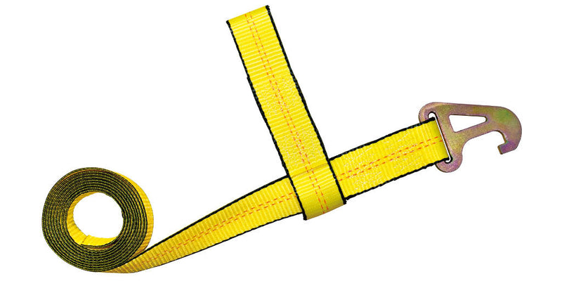 "2"" x 10FT Element Pyramid Hook Tow Strap"