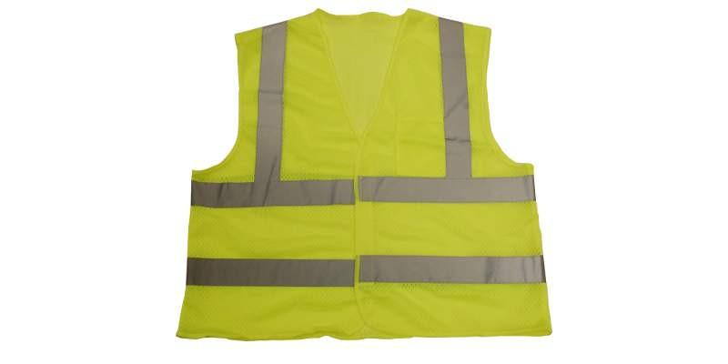 Safety Vest Green Mesh with 2'' Reflective Tape