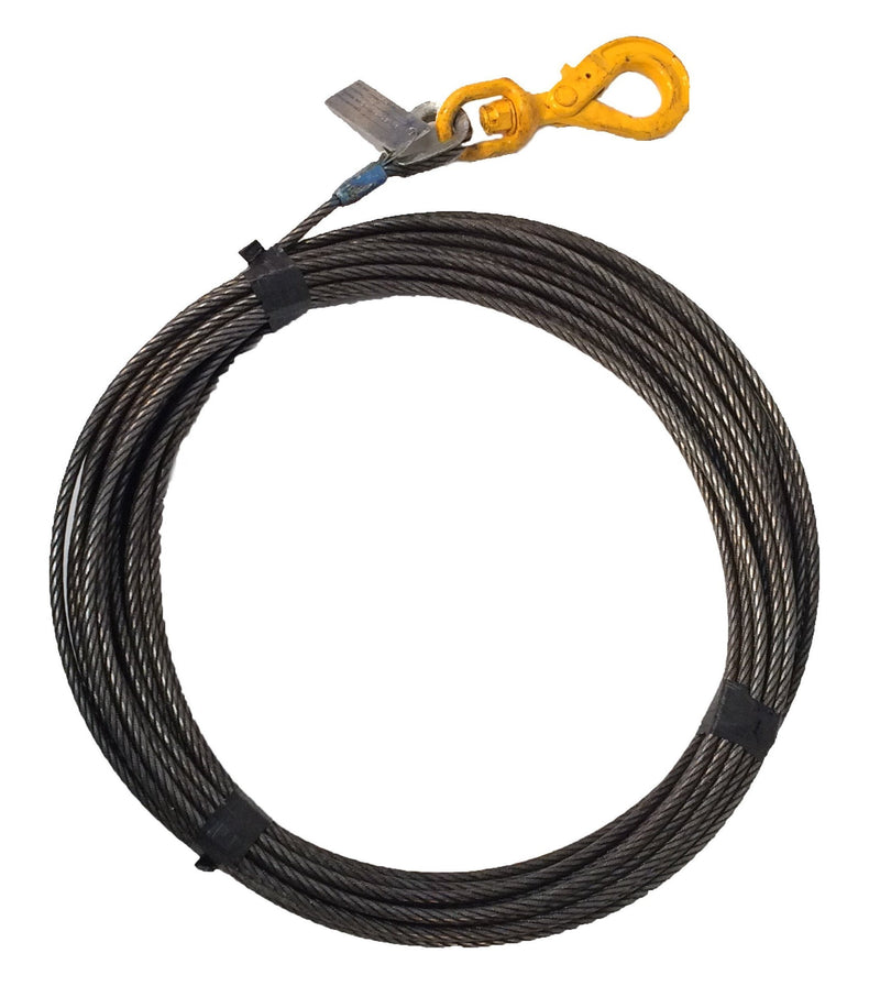 "7/16"" Super Swaged Winch Cables"